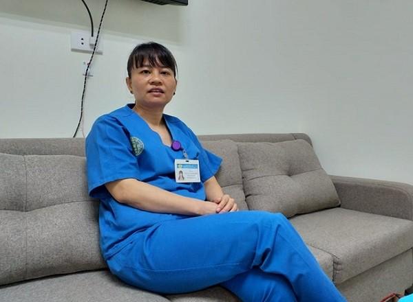 Bác sĩ Nguyễn Thị Ngọc Bích trả lời phỏng vấn Báo ANTĐ