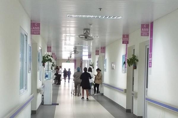 Khoa Phụ sản 2 - Bệnh viện Thanh Nhàn là nơi sản phụ Chử Thị M. đăng ký đẻ