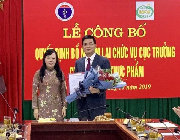 Bộ trưởng Y tế trao Quyết định bổ nhiệm cho PGS.TS Nguyễn Thanh Phong