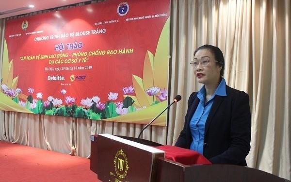 TS Phạm Thanh Bình phát biểu tại hội thảo sáng 29-10
