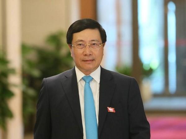 Phó Thủ tướng Chính phủ - Bộ trưởng Bộ Ngoại giao Phạm Bình Minh tại Quốc hội