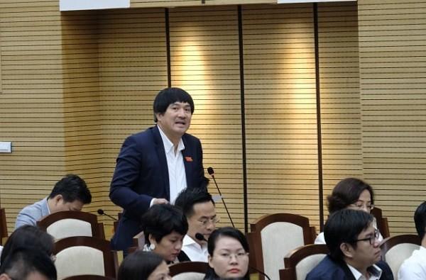 ĐB Phạm Đình Đoàn đặt câu hỏi với Giám đốc Sở Y tế Hà Nội
