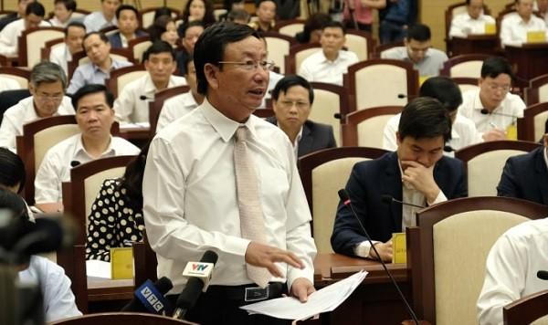 Giám đốc Sở Công Thương Hà Nội Lê Hồng Thăng