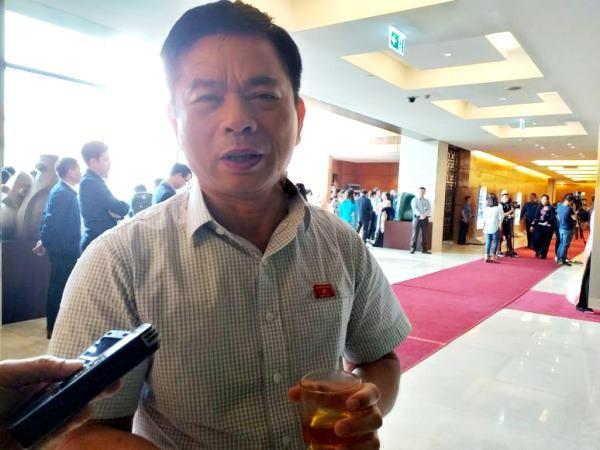 ĐBQH Nguyễn Thanh Hồng trả lời báo chí sáng 6-11
