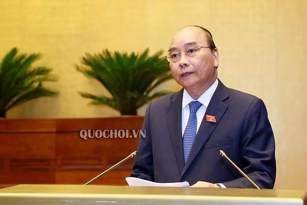 Thủ tướng Chính phủ Nguyễn Xuân Phúc trả lời chất vấn ĐBQH