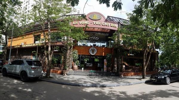 Nhà hàng kinh doanh trong dự án khu đô thị Đông Nam đường Trần Duy Hưng