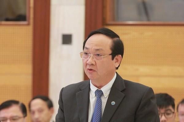 Phó Chủ tịch UBND TP Hà Nội Nguyễn Thế Hùng thông tin tại buổi họp báo chiều 2-12