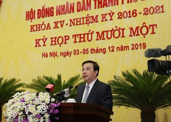 Giám đốc Sở GD&ĐT Hà Nội Chử Xuân Dũng trả lời chất vấn tại HĐND TP