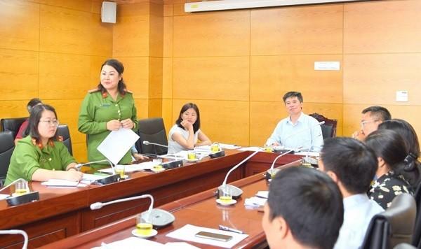 Buổi làm việc của liên ngành giải quyết nợ đọng BHXH thành phố Hà Nội với các doanh nghiệp nợ BHXH kéo dài