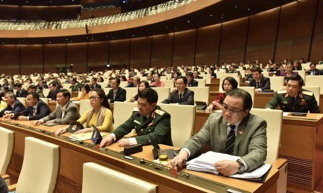 ĐBQH biểu quyết thông qua Nghị quyết về thí điểm tổ chức mô hình chính quyền đô thị tại thành phố Hà Nội