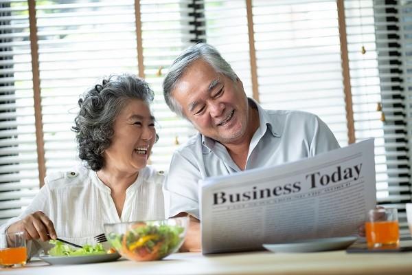 Lối sống tích cực và dinh dưỡng hợp lý sẽ giúp lão hóa lành mạnh