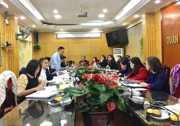Đoàn kiểm tra liên ngành ATTP số 2 thành phố Hà Nội kiểm tra tại quận Thanh Xuân