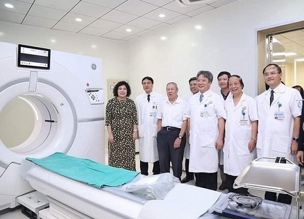 Bệnh viện Việt Đức triển khai hệ thống máy chụp cắt lớp vi tính hiện đại nhất hiện nay