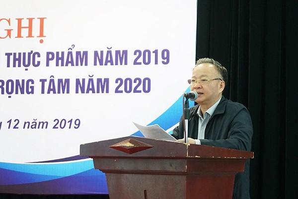 Phó Chủ tịch Thường trực UBND TP Nguyễn Văn Sửu phát biểu tại hội nghị