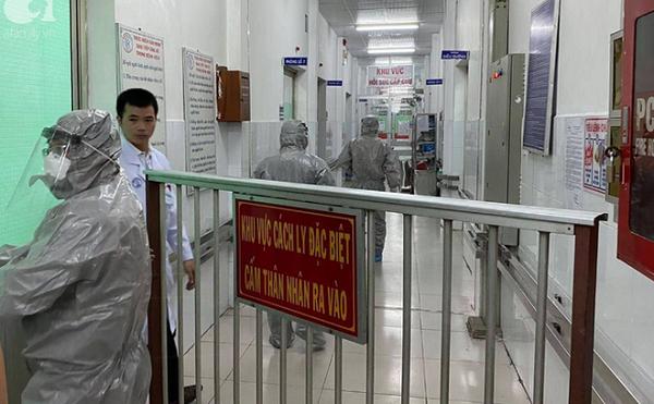 Khu cách ly điều trị 2 bố con người Trung Quốc nhiễm virus Corona tại BV Chợ Rẫy