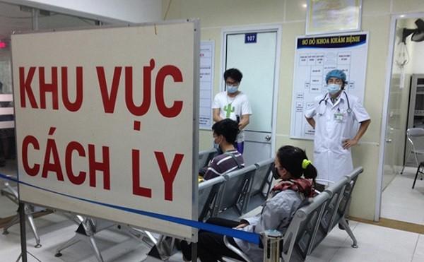 Khu vực cách ly điều trị bệnh nhi nghi ngờ mắc Corona virus tại BV Nhi Trung ương