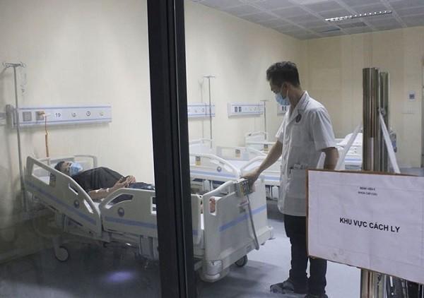 Ca bệnh nghi nhiễm Corona được điều trị tại Bệnh viện E