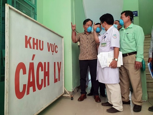 Khu cách ly điều trị bệnh nhân mắc Corona ở Bệnh viện Bệnh Nhiệt đới Khánh Hòa