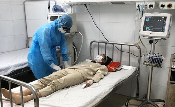 Nữ bệnh nhân nhiễm virus Corona đang điều trị tại BV Bệnh Nhiệt đới Trung ương
