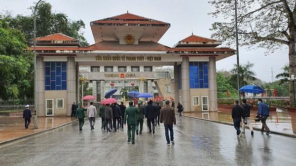 Đoàn Bộ Y tế kiểm tra chống dịch corona tại cửa khẩu quốc tế Thanh Thủy (Hà Giang)