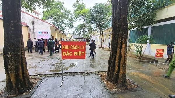 Khu cách ly đặc biệt các trường hợp nghi ngờ nhiễm corona tại tỉnh Hà Giang