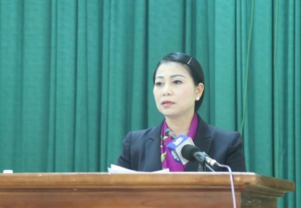 Bí thư Tỉnh ủy Vĩnh Phúc công bố quyết định khoanh vùng xử lý ổ dịch ở xã Sơn Lôi