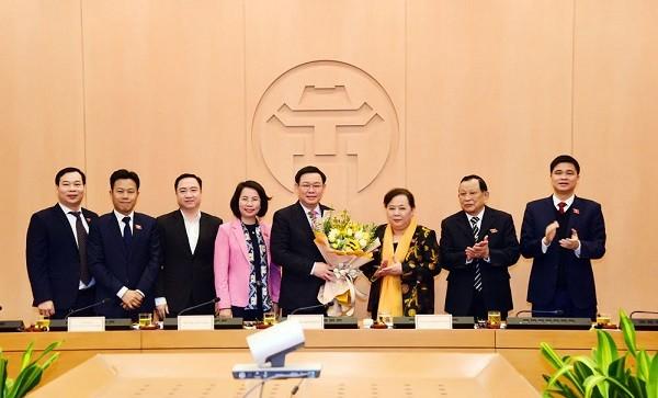 Đồng chí Vương Đình Huệ được bầu làm Trưởng đoàn ĐBQH TP Hà Nội