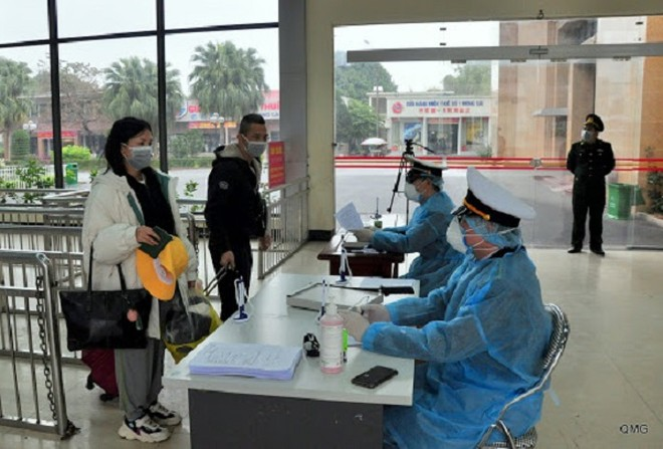 Chính thức áp dụng Tờ khai y tế bắt buộc với tất cả hành khách nhập cảnh từ Hàn Quốc (Ảnh minh họa)