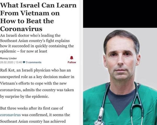 """Bác sĩ Rafi Kot đã có thư gửi Bộ Y tế Việt Nam xin """"đính chính"""" thông tin"""