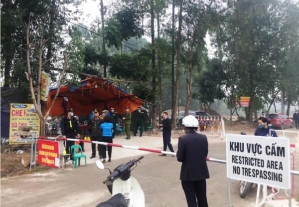 Xã Sơn Lôi (huyện Bình Xuyên, Vĩnh Phúc) đã trải qua 20 ngày bị cách ly toàn bộ