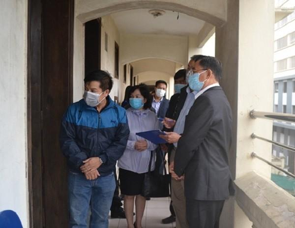 Sở Y tế Hà Nội kiểm tra khu ở của 4 chuyên gia người Trung Quốc tại Hà Đông