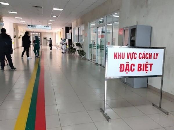 Khu cách ly đặc biệt phòng Covid-19 tại Bệnh viện Bệnh Nhiệt đới Trung ương