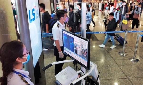 Máy đo thân nhiệt ở sân bay chỉ phát hiện được những trường hợp có sốt