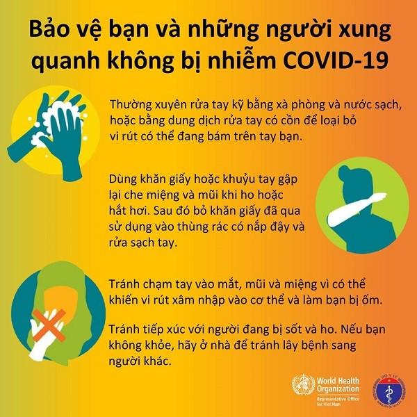 Cách bảo vệ sức khỏe trong mùa dịch Covid-19