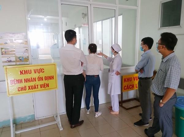Khu điều trị bệnh nhân nhiễm Covid-19