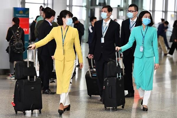 Có thêm một nữ tiếp viên hàng không Việt Nam nhiễm Covid-19 (Ảnh minh họa)