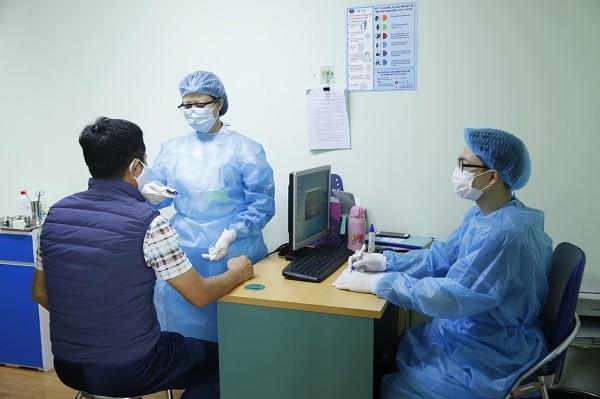 Khu khám sàng lọc bệnh nhân có nghi ngờ viêm phổi cấp ở Bệnh viện K