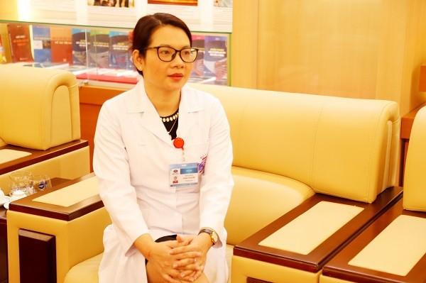 TS.BS Phùng Thị Huyền chia sẻ về công tác phòng chống dịch Covid-19 tại Bệnh viện K