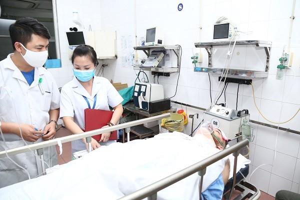 Bệnh nhân đang được điều trị tại Bệnh viện Việt Đức