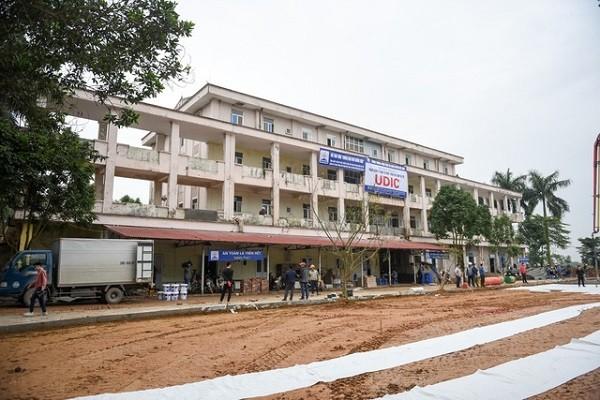 Bệnh viện dã chiến điều trị bệnh nhân Covid-19 ở Mê Linh hoàn thành trong 7 ngày