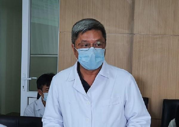 Thứ trưởng Bộ Y tế Nguyễn Trường Sơn phát biểu tại buổi làm việc
