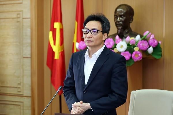 Phó Thủ tướng Vũ Đức Đam phát biểu tại cuộc họp Ban Chỉ đạo Quốc gia