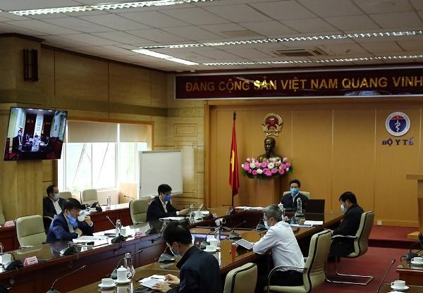 Ban Chỉ đạo Quốc gia họp sáng 13-4, dưới sự chủ trì của Phó Thủ tướng Vũ Đức Đam