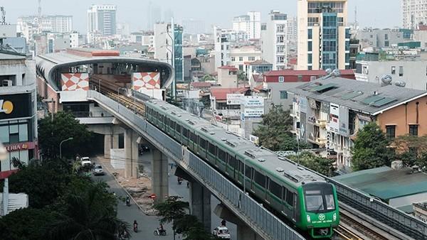 Cử tri Hà Nội rất quan tâm đến dự án đường sắt đô thị Cát Linh - Hà Đông