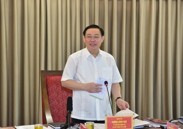 Hà Nội kiến nghị Chính phủ cho cơ chế để triển khai được quy hoạch hai bên sông Hồng ảnh 3
