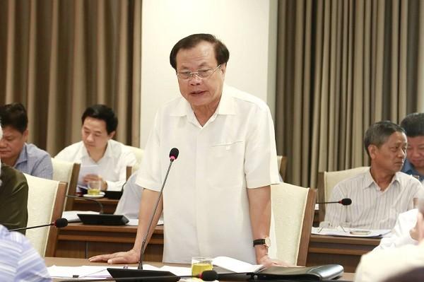 Nguyên Bí thư Thành ủy Hà Nội Phạm Quang Nghị góp ý