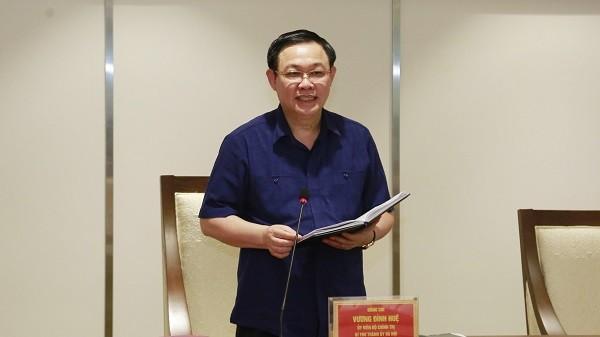 Bí thư Thành ủy Vương Đình Huệ tiếp thu các ý kiến góp ý