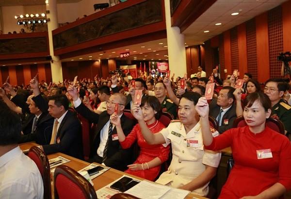 Các đại biểu dự đại hội