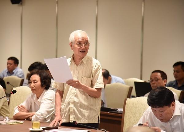 Kiến trúc sư Đào Ngọc Nghiêm góp ý về phát triển 5 đô thị vệ tinh thành phố Hà Nội