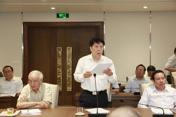 Ông Trần Danh Lợi góp ý về vấn đề phát triển hạ tầng giao thông và không gian ngầm đô thị